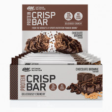 Optimum Nutrition > Whey Crisp Bar 65g Chocolate Brownie