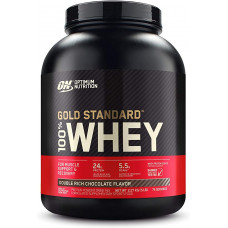 Optimum Nutrition > Gold Standard 100% Whey 5lb Double Rich Chocolate