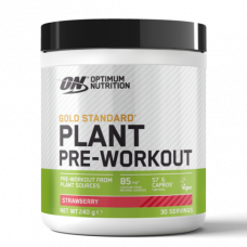 ON > Plant Pre-workout 240g Strawberry