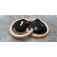 Bearfitness > Gymnastics Rings in wood