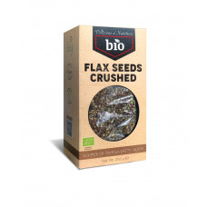 Delicious&Nutritious > Bio Flax Seeds Crushed 250g