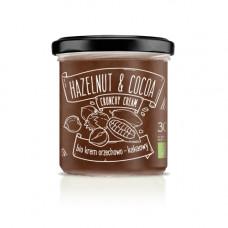 Diet-Food > Bio Hazelnut & Cocoa Cream Crunchy 300g