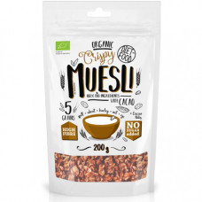 Diet-Food > Bio muesli crunchy with cacao (baked) (200g)