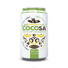 Diet-Food > Cocosa Natural Coconut Water with Pineapple 330ml