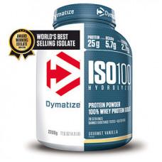 Dymatize > ISO-100 Hydrolised Whey Isolate (2.2kg) Vanilla