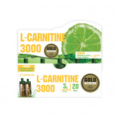 Gold Nutrition > L-CARNITINE 3000 MG LEMON - 20 VIALS