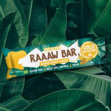Gold Nutrition > Raaaw Bar 35g Banana-Peanut
