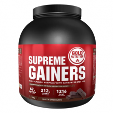 Gold Nutrition > SUPREME GAINERS CHOCOLATE -3 KG