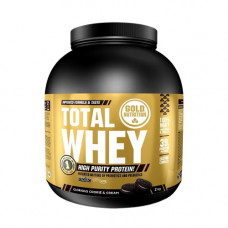 Gold Nutrition > TOTAL WHEY COOKIES & CREAM -2 KG