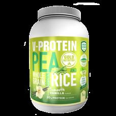 Gold Nutrition > Vegan-Protein Vanilla - 1 KG (Plant)