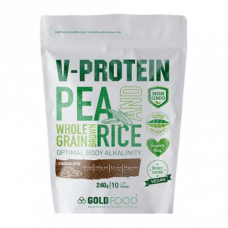 Gold Nutrition > Vegan-Protein Chocolate - 240 G (Plant)