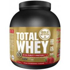 Gold Nutrition > TOTAL WHEY STRAWBERRY - 2 KG