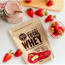 Gold Nutrition > Total Whey 260g Strawberry Banana