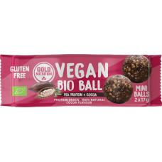 Gold Nutrition > Vegan Bio Ball 34g Pea Protein + Cocoa