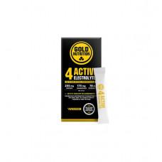 Gold Nutrition > 4ACTIVE ELECTROLYTES - 10 STICKS GOLDNUTRITION