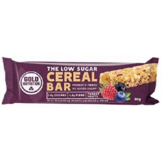 Gold Nutrition > LOW SUGAR CEREAL BAR FOREST FRUITS - 30 G