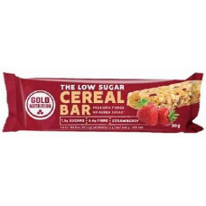 Gold Nutrition > LOW SUGAR CEREAL BAR STRAWBERRY - 30 G