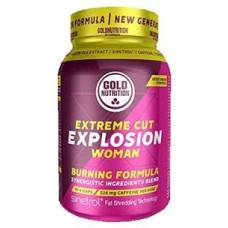 Gold Nutrition > EXTREME CUT EXPLOSION WOMAN - 90 CAPS