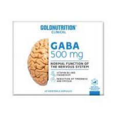 Gold Nutrition > GABA - GN CLINICAL - 60 VCAPS