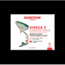 Gold Nutrition > OMEGA 3 CONCENTRATE - GN CLINICAL - 60 CAPS