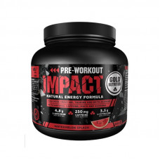 Gold Nutrition > PRE-WORKOUT IMPACT WATERMELON - 400 G GOLDNUTRITION