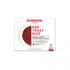 Gold Nutrition > RED YEAST RICE W/ Co Q10 & NIACIN- GN CLINICAL - 60 VCAPS