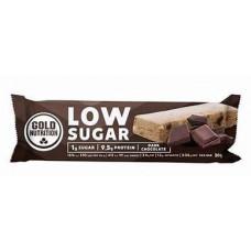 Gold Nutrition > PROTEIN BAR LOW SUGAR DARK CHOCOLATE - 30 G