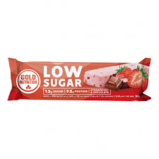 Gold Nutrition > PROTEIN BAR LOW SUGAR STRAWBERRY & CHOCOLATE - 30 G