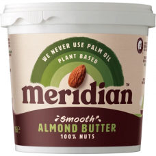 Meridian > Almond Butter 1kg Natural Smooth