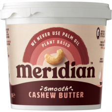 Meridian > Cashew Butter 1kg Natural Smooth