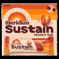Meridian > Sustain Bars - Peanut Bar Multipack (3x40g)