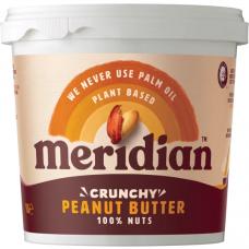 Meridian > Peanut Butter 1kg Natural Crunchy