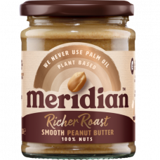 Meridian > Rich Roast Peanut Butter 280g Smooth