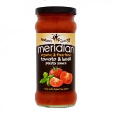 Meridian > Organic Tomato and Basil Pasta Sauce 350g
