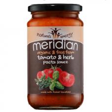 Meridian > Organic Tomato and Herb Pasta Sauce 440g
