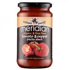 Meridian > Organic Tomato and Pepper Pasta Sauce 440g