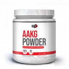 PN > Aakg Powder 250 Grams Unflavored