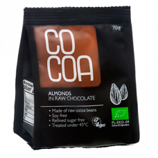 RawCocoa > Bio Almonds in Raw Chocolate (70g)