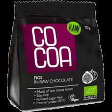 RawCocoa > Bio Figs in Raw Chocolate 70g
