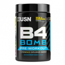 USN > B4 Bomb Pre-Workout 300g Blue Raspberry Crush