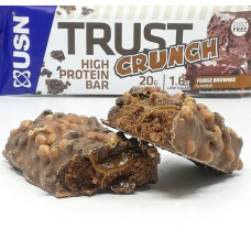 USN > Trust Crunch Bars Chocolate Brownie 60g
