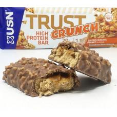 USN > Trust Crunch Bars Salted Caramel Peanut 60g